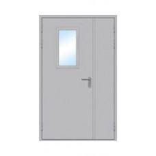 Дверь  ДПМО 60  противопожарная  двухстворчатые
