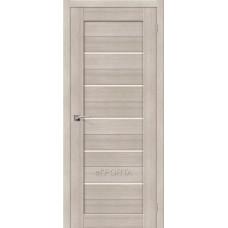 Дверь межкомнатная el Porta 602 Ясень белый  ЭКОШПОН