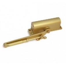 Доводчик дверной DC-01/70-F-M-G (до 70кг) золото Apecs